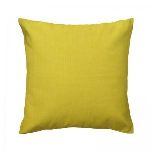 Capa de almofada algodão escamas amarelas