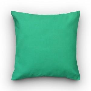 Capa de almofada liso acquablock verde