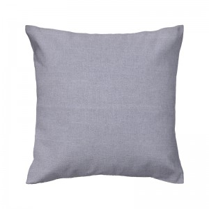 Capa de almofada liso linhão cinza