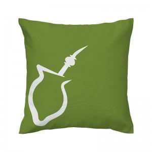 Capa de almofada verde Chimarrão - Coleção Ícones do Brasil (design exclusivo VivaIn)