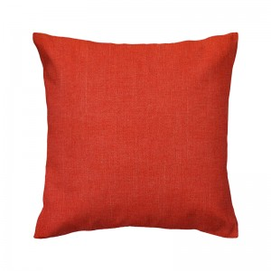 Capa de almofada linhão laranja