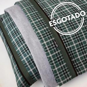 Jogo de lençol flanela SOLTEIRO Esmeralda