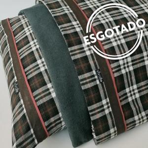 Jogo de lençol flanela SOLTEIRO Onix
