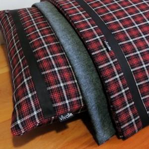 Jogo de lençol flanela SOLTEIRO Rubi