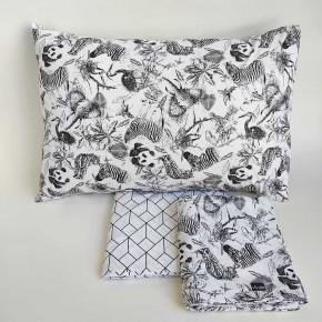 Jogo de lençol infantil 3 peças Zoo