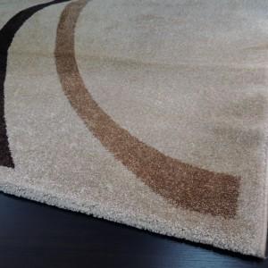 Tapete Luxus bege com marrom 2,00 x 2,50 m